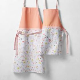 Floral Adult & Kid Aprons