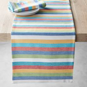 Summer Stripe Table Runner
