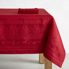 Zodiac Jacquard Tablecloth