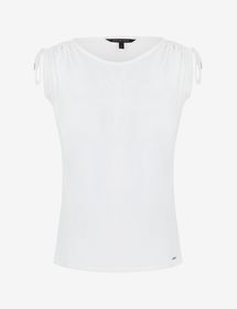 Armani KNIT TANK TOP WITH LOGO LETTERING