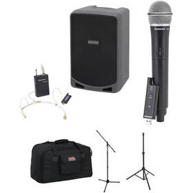 Samson Expedition XP106wDE Portable PA Kit with Wi
