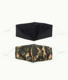 Aeropostale Camo & Solid Mask 2-Pack