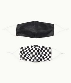 Aeropostale Checkered & Solid Mask 2-Pack