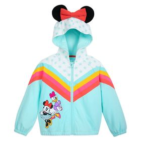 Disney Minnie Mouse and Daisy Duck Hooded Jacket f