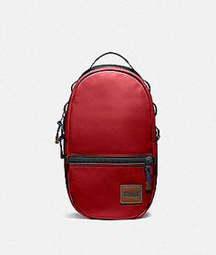 Coach pacer backpack with coach patch