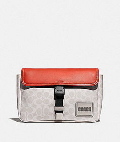 Coach pacer belt bag in signature canvas with coac