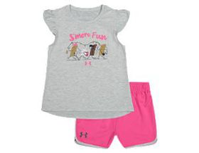 Under Armour S'More Fun Short-Sleeve Shirt and Sho