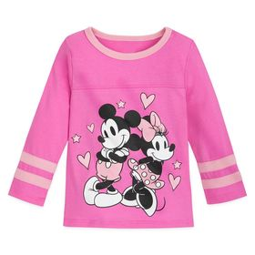 Disney Mickey and Minnie Mouse Football T-Shirt fo