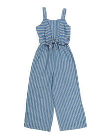 BEBE Big Girls Striped Jumpsuit