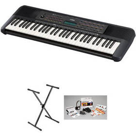 Yamaha PSR E-273 Portable Keyboard Value Kit with