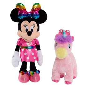 Disney Minnie Mouse and Walk-and-Dance Unicorn Dol