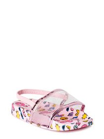 Nicole Miller New York Summer Fun Back-Strap Slide