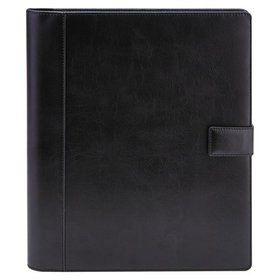 Universal Textured Notepad Holder, 8 1/2 x 11, Lea