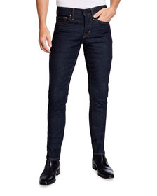 TOM FORD Men's Slim-Fit Dark Denim Jeans