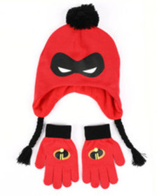 Arcade Styles incredibles 2 mask peruvian knit hat