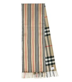 Burberry Check cashmere and silk scarf