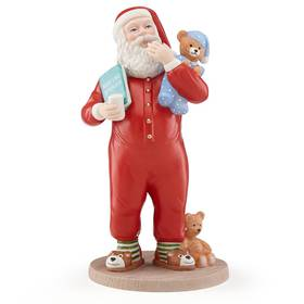 Lenox 2018 Sweet Dreams Santa Figurine
