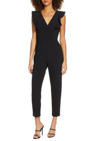 French Connection Whisper Ruffle Jumpsuit