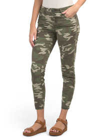 KUT FROM THE KLOTH Connie Camo High Rise Skinny An