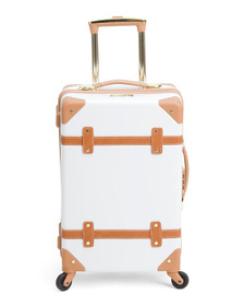 CHARIOT 20in Trunk Style Hardside Carry-on With Be