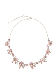 Givenchy Frontal Crystal Necklace