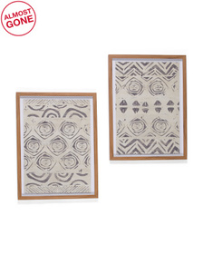 MARMONT HILL INC Set Of 2 Abstract Print Wall Art
