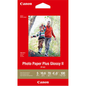 "Canon PP-301 Photo Paper Plus Glossy II (4 x 6"", 1"