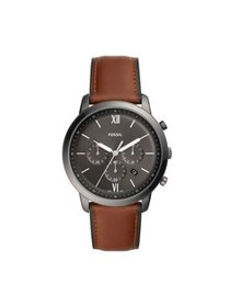 Fossil Men's Neutra Chronograph Amber Leather Watc