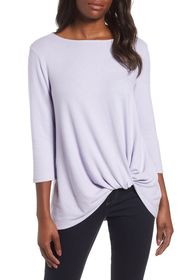 Gibson Cozy Twist Front Pullover
