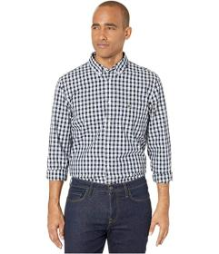 Lacoste Long Sleeve Checked Poplin Shirt with A Me