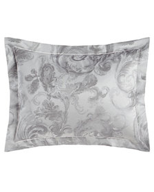SFERRA King Gray Scroll Sham