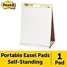 Post-it® Super Sticky Tabletop Easel Pad, 20 x 23,