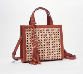 """As Is"" Vince Camuto Mini Tote Bag - Indra - A3914"
