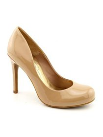 Jessica Simpson Womens Calie Solid Slip On Pumps