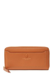 Marc Jacobs Leather Vertical Zip-Around Wallet