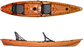 Riot Escape Duo Deluxe Sit-On-Top Kayak