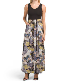 NICOLE MILLER Tank Maxi Dress