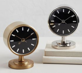 Pottery Barn Flemming Desktop Clock