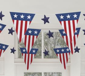 Pottery Barn Americana Party Garland