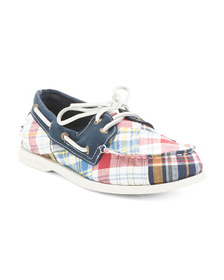 SPERRY Preppy Canvas Boat Shoes
