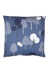 EIGHTMOOD Forest Trees Throw Pillow