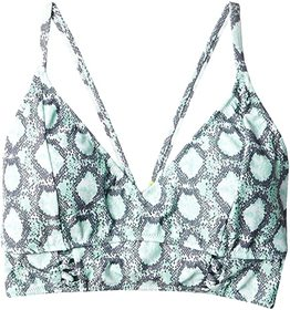 Jessica Simpson Snake Eyes Cropped Cami Top