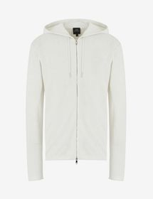 Armani RECYCLED LINEN-BLEND CARDIGAN
