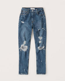 Curve Love High Rise Skinny Jeans, DARK RIPPED WAS