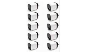 10x 1A Wall Charger USB Plug Home Power Adapter FO