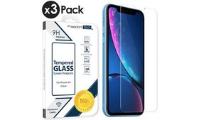 3-Pack 9H Premium Tempered Glass Screen Protector