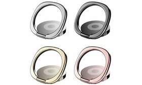 Finger Ring Cell Phone Holder Stand Metal Plate Ro