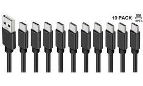 10x3Ft Type C USB C Cable Fast Charging Quick Char