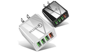 4-Port USB Fast Wall Charger AC Power Adapter US P