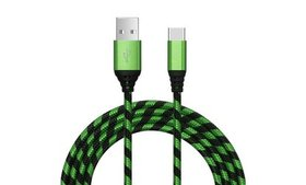 3x USB-C USB Type C Fast Charge & Sync Cable For S